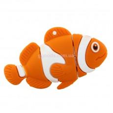 Флешка Рыба-клоун Nemo 4 Гб, 8 Гб, 16 Гб, 32 ГБ