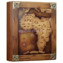 Фотоальбом Африка в кожаной обложке