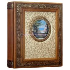 Фотоальбом в кожаной обложке Золотой век