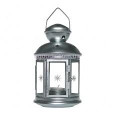 """Фонарь для свечи """"РОТЕРА"""" оцинковка 21 см"""