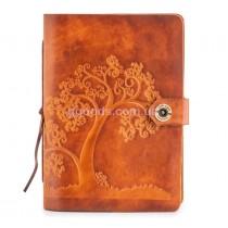 Блокнот кожаный Orange Tree