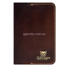 Обложка для паспорта Alfa Brown