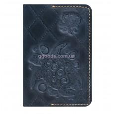 Обложка для паспорта Turtle Blue