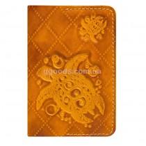 Обложка для паспорта Turtle Orange