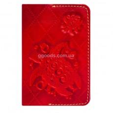Обложка для паспорта Turtle Red