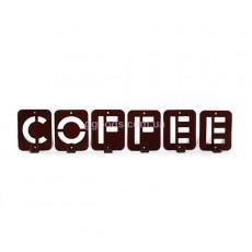 Вешалка настенная Кофе
