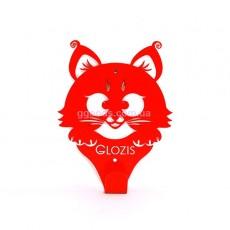 Вешалка настенная Kitty Red