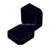 Бархатная коробка для кольца черная