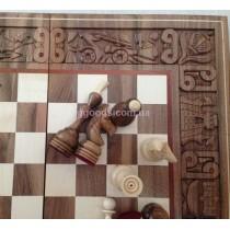 Шахматы деревянные Бой за корону