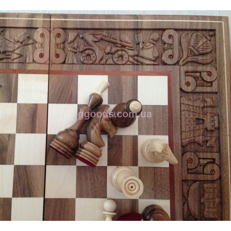 деревянные шахматы купить киев ручной работы Good Goods украина