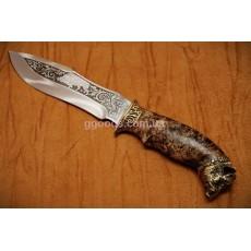 Нож ручной работы Дикий вепрь