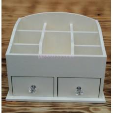 Органайзер для хранения косметики мини, 2 ящика