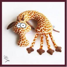 Подушка-зверушка Жираф Евграф