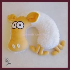 Подушка-подголовник Овца Кудесница