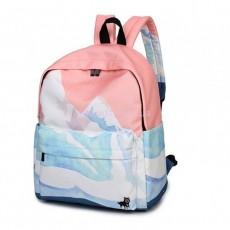 Рюкзак школьный розовый Mountain