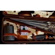 Набор шампуров с деревянными ручками Буржуй
