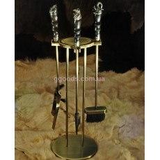 Набор аксессуаров для камина Сафари