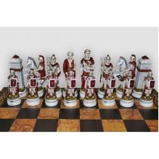 Шахматные фигуры Бой Римлян С Варварами  большие Nigri Scacchi