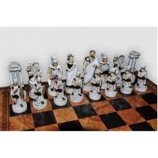 Шахматные фигуры Троянская Битва малые Nigri Scacchi