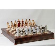Шахматные фигуры Греки и Троянцы большие