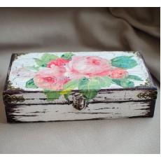 Винтажная шкатулка Розы