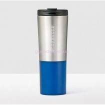 Термокружка Starbucks Brushed Silver&Blue