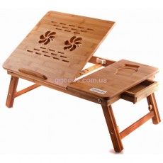 Столик бамбуковый для ноутбука Т26