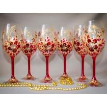 "Бокалы для вина ""Burgundy"""