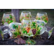 Бокалы для коньяка «Виноградная лоза»