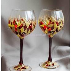 Бокалы для вина «Рубиновое сердце»