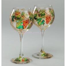 """Бокалы для вина """"Виноградная лоза"""""""