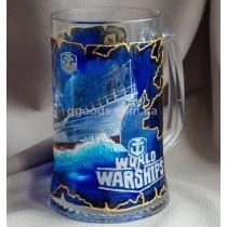 Пивной бокал «World of Warships»