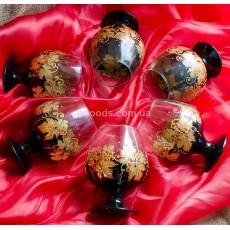 Коньячные бокалы «Золотой виноград»