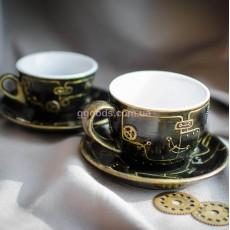 Чашки с стиле Стимпанк (2 шт.)
