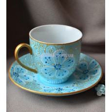 Чашка с блюдцем «Фантазия»