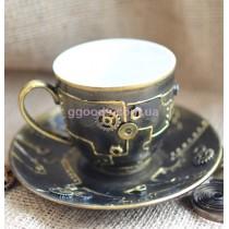Чашка в стиле стимпанк