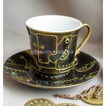 Чашка для чая или кофе в стиле стимпанк