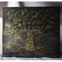 Картина панно «Денежное дерево»