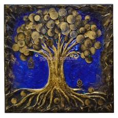 """Картина Денежное дерево """"Достаток"""""""