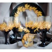 Подарочный набор Золотые листья