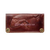 Кожаный кошелек Iguana