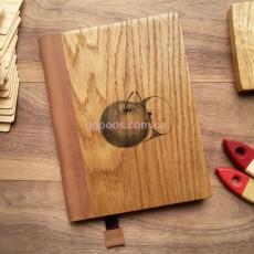Деревянный блокнот Яблоко