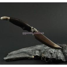 Нож ручной работы Гризли