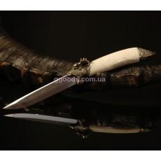 Нож из рога лося