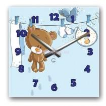 Часы настенные детские Мишка