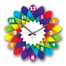 Настенные часы Калейдоскоп
