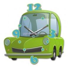 Детские настенные часы Машина