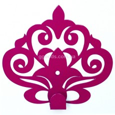 Вешалка настенная Ажур (4 цвета)