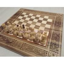 Шахматы-нарды ручной работы Элит