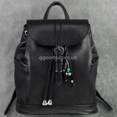 Кожаный рюкзак Олсен Оникс